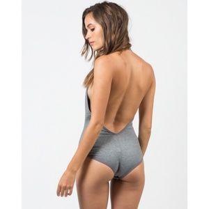 American Apparel - Halter Bodysuit - Small
